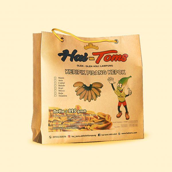 keripik pisang kepok Hai-Toms